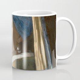 Johannes Vermeer - Girl with the pearl earring (1665) Coffee Mug