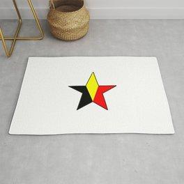 Flag of belgium 6 belgian,belge,belgique,bruxelles,Tintin,Simenon,Charleroi,Anvers,Maeterlinck Rug