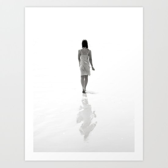 Good luck exploring the infinite abyss. Art Print