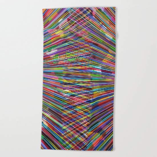 Pattern Colors Beach Towel
