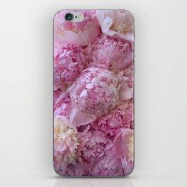 Pink ruffles iPhone Skin