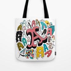 A's Tote Bag