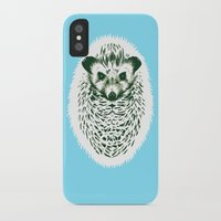 hedgehog iPhone & iPod Cases featuring hedgehog by barmalisiRTB