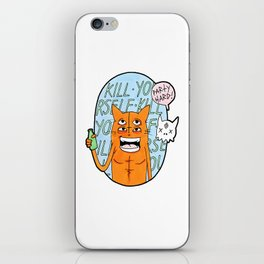 PARTY HARD iPhone Skin