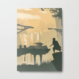 The Last Guardian Metal Print
