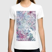 baltimore T-shirts featuring Baltimore by MapMapMaps.Watercolors