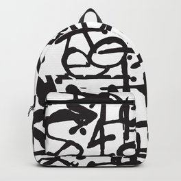 Graffiti Pattern Backpack