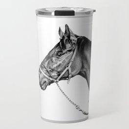Sir Alfred - Racehorse : Graphite Travel Mug