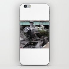 Vintage Steam Engine iPhone Skin