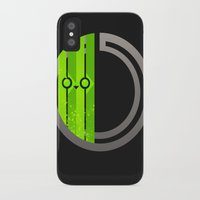 lime green iPhone & iPod Cases featuring Lime by Ryukaza