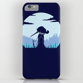Grey Wolf Sif (Dark Souls) iPhone Case