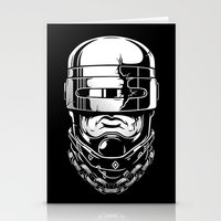 robocop Stationery Cards featuring Hey, Robocop! by OneAppleInBox