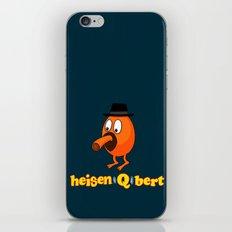 HeisenQbert iPhone Skin