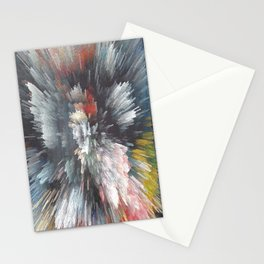Abstract night Stationery Cards