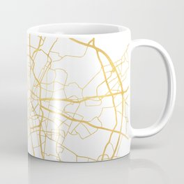 MUNICH GERMANY CITY STREET MAP ART Coffee Mug