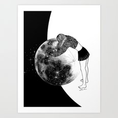 Waiting For The Night Art Print