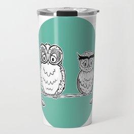 Owly relax Travel Mug