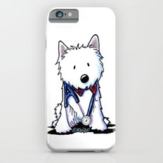 KiniArt Westie Love Doctor iPhone 6s Slim Case