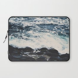 Rocky Sea Shore Laptop Sleeve