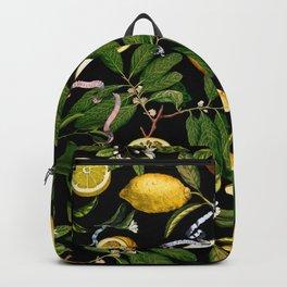LEMON TREE Black Backpack