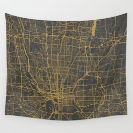 Columbus map Wall Tapestry