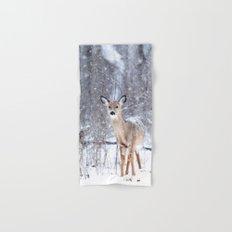 Winter deer #photography #society6 Hand & Bath Towel