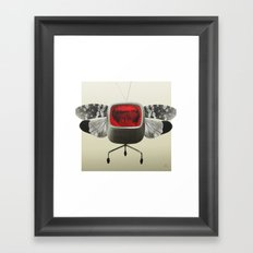The truth is dead 12 Framed Art Print
