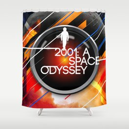 Visions of the Future :: 2001: A Space Odyssey Shower Curtain