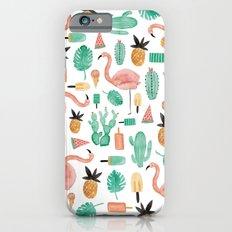 Flamingo Love iPhone 6s Slim Case