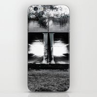 melbourne iPhone & iPod Skins featuring Melbourne Tunnels by Paul Vayanos