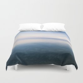 oh, Sea, how I love thee Duvet Cover