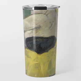 "Henri de Toulouse-Lautrec ""The Clown Cha-U-Kao"" Travel Mug"
