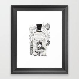 My Monster Friend Framed Art Print