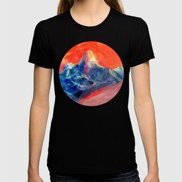 Abstract Mt. Everest T-shirt