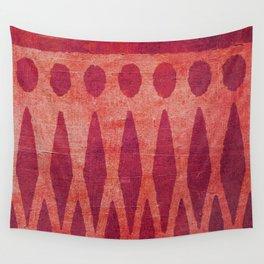 Pueblo de Montaña Wall Tapestry