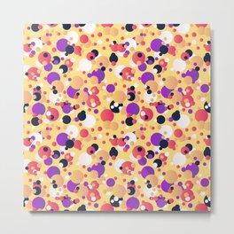 Messy dots Metal Print