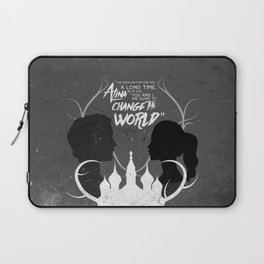 What I Showed You In The Dark Laptop Sleeve