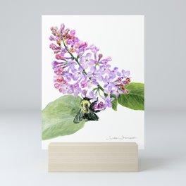 Lilac Love by Teresa Thompson Mini Art Print