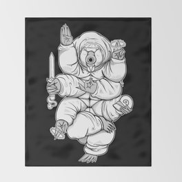 Lord Tardigrade Throw Blanket