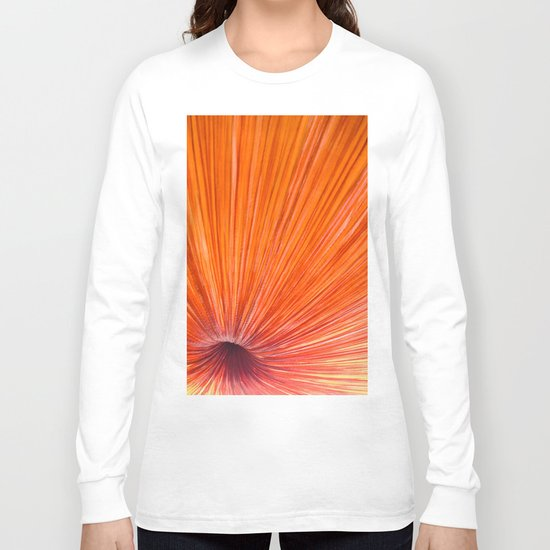 Orange and Red Long Sleeve T-shirt