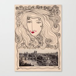 A Gypsy in Paris Canvas Print