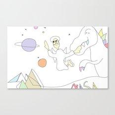 Funland 6 Canvas Print