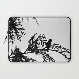 the thoughtful hummingbird Laptop Sleeve