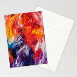 Rainbow Motion Stationery Cards