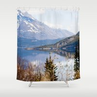 alaska Shower Curtains featuring Alaska by youngkinderhook
