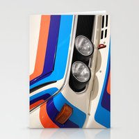 bmw Stationery Cards featuring BMW CSL by Internal Combustion