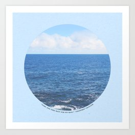 Time & Tide Art Print