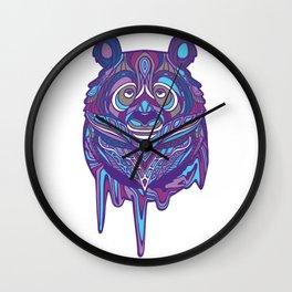 Melty Panda (Purple Variant) Wall Clock