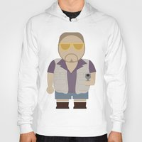 big lebowski Hoodies featuring Walt - Big Lebowski by Moose Art