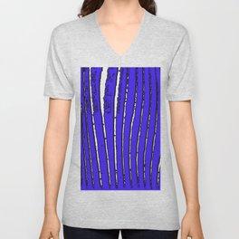 Blue Seaweed Unisex V-Neck